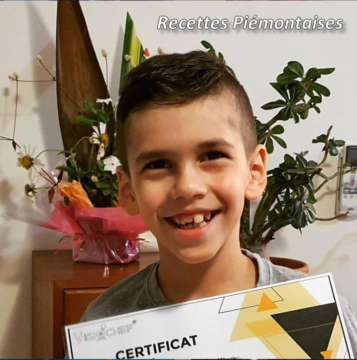 Certificat Macarons Visiochef