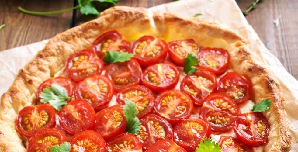 tarte à la tomate piemontaise